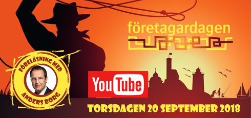 Företagardagen 20 september 2018