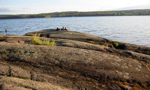 Sjön Marmen